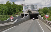 Le tunnel de la Grand'Mare, sur la RN28