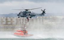 Deux personnes piégées par la marée montante secourues près de Longues-sur-Mer (Calvados)