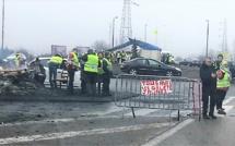 Gilets jaunes: une femme enceinte frappée par des inconnus sur le rond-point des Vaches, près de Rouen