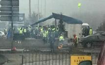 Gilets jaunes : trois ronds-points évacués par les gendarmes mobiles cet après-midi à Dieppe