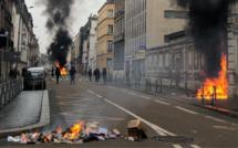 Gilets jaunes : les manifestations dégénèrent à Rouen et au Havre, 10 blessés, 49 interpellations