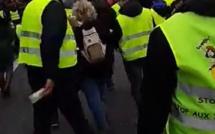 Vitrines brisées, policier blessé et tirs de mortier... Tension extrême à Rouen à la manifestation des gilets jaunes