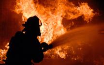 Seine-Maritime : les sapeurs-pompiers sur le front de deux incendies cet après-midi