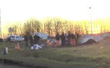 La cabane des Gilets jaunes entre Pacy-sur-Eure et Vernon détruite par un mystérieux incendie