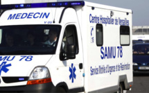 Yvelines : le pilote d'une moto blessé dans un accident de la circulation à Sartrouville