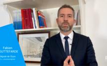 Grand débat national : le député Fabien Gouttefarde à Saint-Aubin-d'Écrosville samedi 2 mars