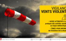 Vigilance jaune : des vents violents attendus en Seine-Maritime cet après-midi