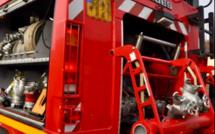 Eure : 200 tonnes de paille parties en fumée cette nuit a Ailly, les bovins sont indemnes