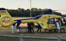 Neufchâtel-en-Bray : victime d'un arrêt-respiratoire, une jeune fille héliportée au CHU de Rouen
