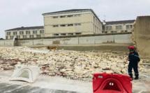 Yvelines : un mur d'enceinte extérieur de la prison de Poissy s'effondre