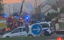 Yvelines : les locaux de Tomecanic en feu ce soir à Aubergenville