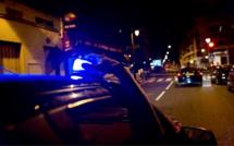Rouen : la voiture de police percutée par une Mercedes est bonne pour la casse