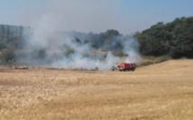 Plusieurs incendies d'espaces naturels en cours cet après-midi dans l'Eure et en Seine-Maritime