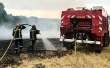 Feu de chaume dans l'Eure : 15 hectares brûlés à Gravigny près d'Évreux