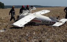 Yvelines : un avion de tourisme atterrit d'urgence dans un champ et se retourne, le pilote est blessé