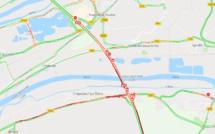 Carambolage sur l'A13 à Criquebeuf-sur-Seine : huit blessés légers, trafic très perturbé en direction de Caen