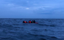 22 migrants en difficulté sur une embarcation récupérés cette nuit au large de Dunkerque