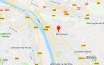 Un bus vide prend feu à Bonsecours près de Rouen : la route de Paris coupée
