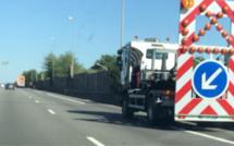 Seine-Maritime : un poids lourd percute une voiture en panne sur l'A139 à Grand-Couronne