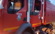 Eure : les ateliers de la société Euro poids lourds, à Broglie, ravagés par un violent incendie