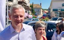 Le ministre de l'Économie, Bruno Le Maire, en visite dans l'Eure pour parler plein emploi
