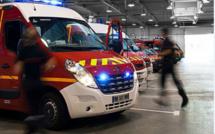 Feu de détritus dans un bâtiment industriel désaffecté à Montivilliers, près du Havre