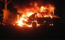 Eure : le feu de voiture se propage, deux retraités incommodés par les fumées