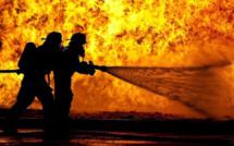 Violent incendie dans l'Eure : 50 tonnes de fourrage partis en fumée, près de Montreuil l'Argillé