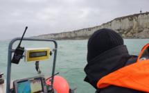 L'épave du bateau de pêche naufragé a été localisée à 800 m au large de Fécamp