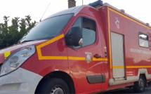 Eure : une voiture finit sa course dans le mur d'une maison à Puchay, le conducteur est blessé légèrement