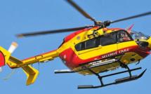 Dragon76 et les sapeurs-pompiers mobilisés ce matin pour un corps à la dérive à Yport, en Seine-Maritime