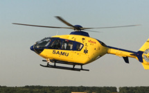Seine-Maritime : Grièvement blessé à Gaillefontaine, le pilote d'une moto est héliporté au CHU de Rouen