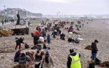 Le Havre : 40 employés municipaux à pied d'œuvre pour nettoyer la plage ce vendredi