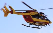 Yvelines. Percuté par une voiture à Mantes-la-Ville, un motard héliporté en urgence absolue