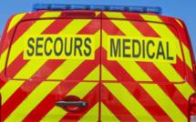 Blessé dans l'incendie de sa maison à Elbeuf, un homme transporté médicalisé à l'hôpital