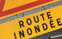 Inondations en Seine-Maritime : routes fermées à Bardouville et Cléon