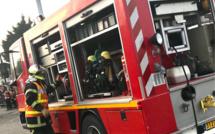 A Vernon, un scooter prend feu au ...6ème étage, une famille conduite à l'hôpital