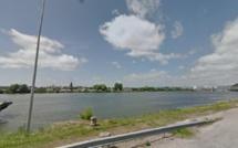 Le cadavre d'une femme repêché cet après-midi dans la Seine près de Rouen