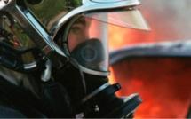 Seine-Maritime : un appentis abritant une cuve de gaz prend feu à côté d'une maison