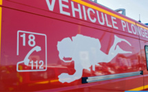 Rouen : un plongeur des sapeurs-pompiers saute de 15 m et sauve un désespéré de la noyade