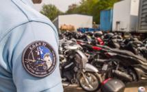 Découvertes par les gendarmes de l'Eure, 42 motos volées devaient partir du Havre pour l'Afrique
