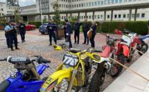 """Dans l'Eure, la """"chasse"""" aux rodéos sauvages est ouverte : 24 motos saisies dans les quartiers"""