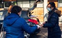 """Eure  : distribution de masques """"en drive"""" aux 4 400 assistantes maternelles du département"""