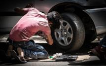Saint-Étienne-du-Rouvray : surpris par la police en train de désosser une voiture volée