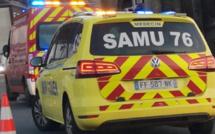 Coincée sous l'essieu d'une camionnette, une femme blessée grièvement ce matin à Dieppe