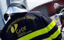 Rouen : une conduite de gaz arrachée par un engin de chantier dans une zone pavillonnaire