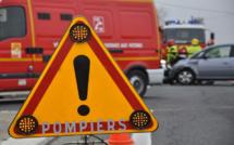 Le poids lourd se rabat, la voiture s'immobilise sur le toit : deux blessés sur le boulevard Industriel près de Rouen