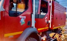 Eure : vingt sapeurs-pompiers et trois lances pour lutter contre un incendie de maison à Saint-Luc