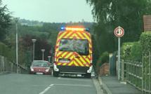Seine-Maritime : un camion-benne percuté par une voiture, un éboueur grièvement blessé