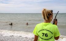 Surveillance des plages en Seine-Maritime : les sapeurs-pompiers à pied d'œuvre dès ce week-end